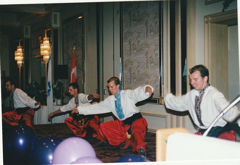 1999 Convention Banquet Entertaiment - Ukranian Dancers